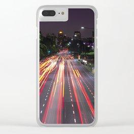 Luces de Buenos Aires Clear iPhone Case