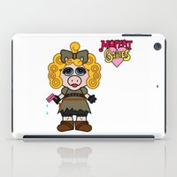 river song iPad Cases featuring Miss Piggy Song - Moffat Babies by Murphis the Scurpix