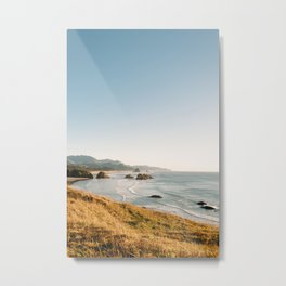 Ecola State Park overlooking Canon Beach Metal Print