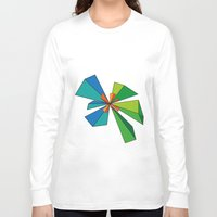 3d Long Sleeve T-shirts featuring 3D by MeMRB
