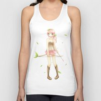 archer Tank Tops featuring archer by waffle