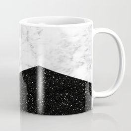 Ebony marble geo Coffee Mug