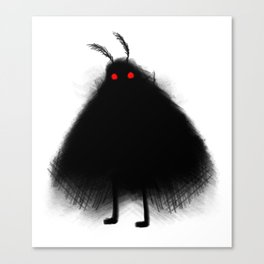 Your Fellow Friendly Cryptid: Mothman Canvas Print