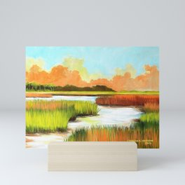 Low Country Marsh Mini Art Print