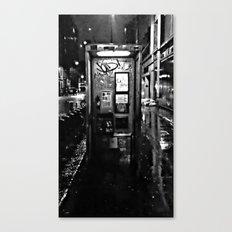 midnite call london Canvas Print