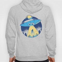 Alien abduction Hoody