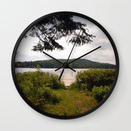 Lac Ménard Wall Clock