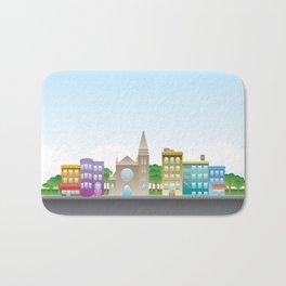 Park Slope Skyline (Color) Bath Mat