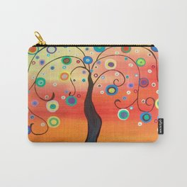 Fiesta Tree Carry-All Pouch