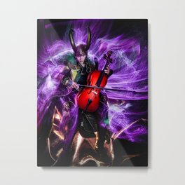 Cello Magic Metal Print
