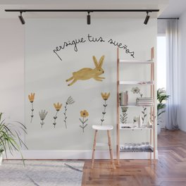 bunny dreams Wall Mural