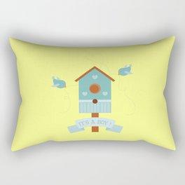 It's a Boy! Rectangular Pillow