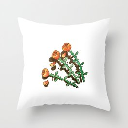 Shady Lady Throw Pillow