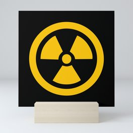 Yellow Radioactive Mini Art Print