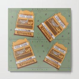 Cash Register Metal Print