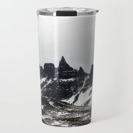 Craggy Icelandic Mountains Travel Mug