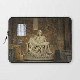 Michelangelo's Pieta in St. Peter's Basilica                                              Laptop Sleeve