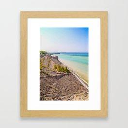 Along the Coast Framed Art Print