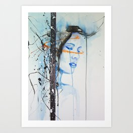 Jay Freestyle - Take me away Art Print