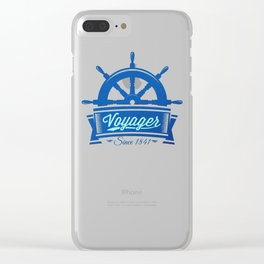 Voyager Clear iPhone Case