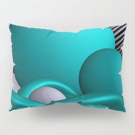 turquoise knots Pillow Sham