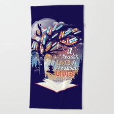 Thousand lives Beach Towel