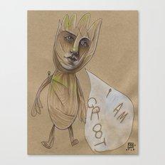 I AM...  Canvas Print