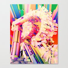 No. 26 Zine - Letter R Canvas Print
