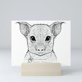 Little Pig Mini Art Print