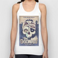 the goonies Tank Tops featuring Goonies by Jared Andolsek
