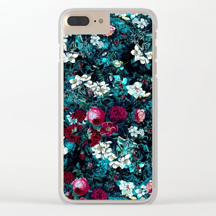 Night Garden IX Clear iPhone Case