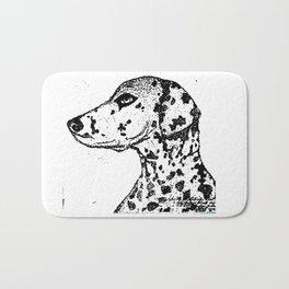 Dalmatian Dog Bath Mat