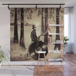 Music Man in the Forest, by Eric Fan and Viviana González Wall Mural