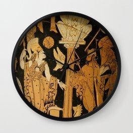 Athena and Poseidon Wall Clock