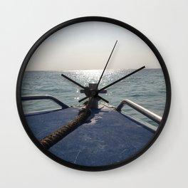 Thailand Boatride Wall Clock