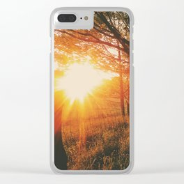 Sunset Road • Appalachian Trail Clear iPhone Case