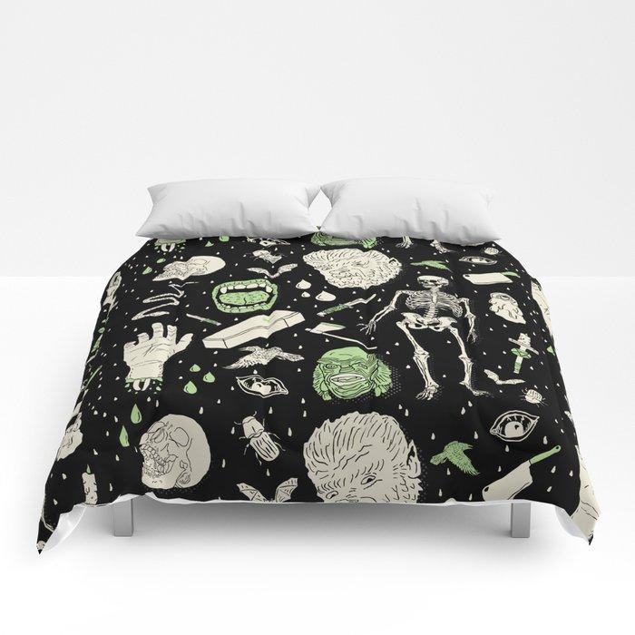 Whole Lotta Horror: BLK ed. Comforters