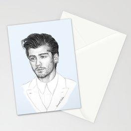 Zayn sketch Stationery Cards