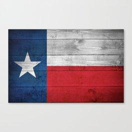 Texas State Flag Canvas Print