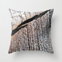 Woodcut Throw Pillow