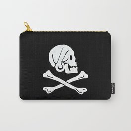 Henry Every Pirate Flag - Jolly Roger Skull Carry-All Pouch