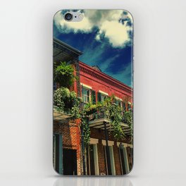 French Quarter Balconies iPhone Skin