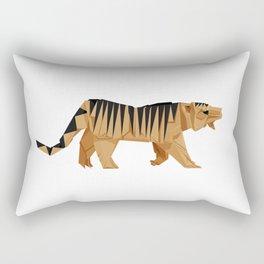 Origami Tiger Rectangular Pillow