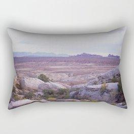 Panoramic of Arches National Park Rectangular Pillow