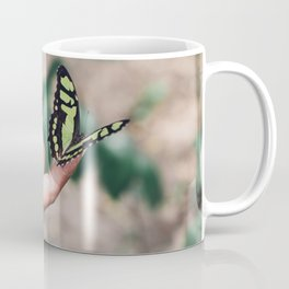 Butterfly Touch Coffee Mug