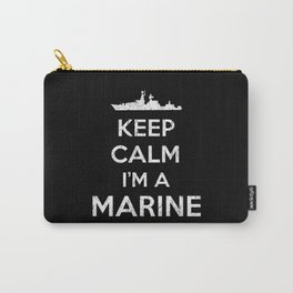 Marine Soldier Keep Calm Carry-All Pouch