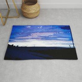 Blue Sunset Rug