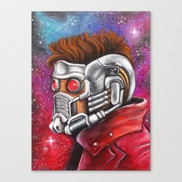 Galaxy Hero Canvas Print