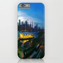 New York City as viewed from the Beautiful Brooklyn Heights iPhone Case