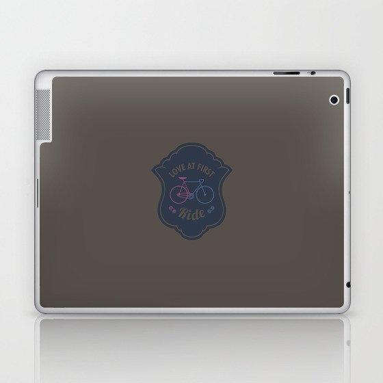 Love At First Ride Bike Laptop & iPad Skin